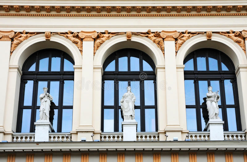 Download Musikverein stock photo. Image of facade, volutes, history - 20703714
