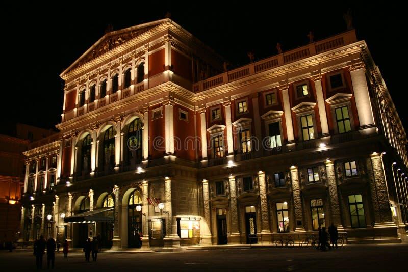Musikverein i Wien royaltyfri fotografi