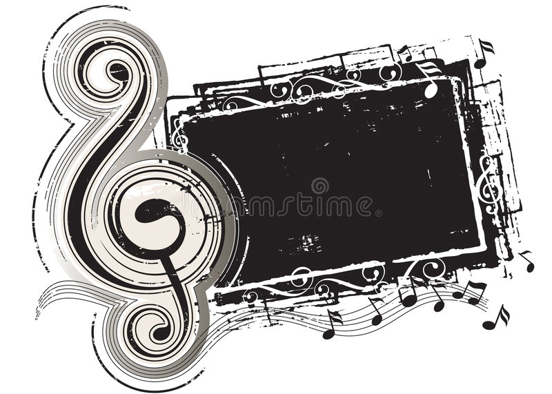 Musikvorstand lizenzfreie abbildung