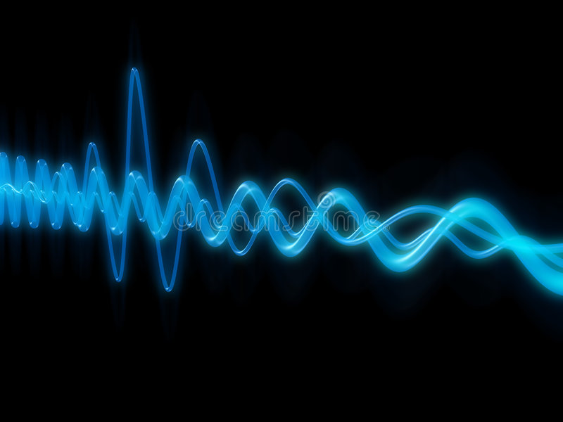 musikwave vektor illustrationer