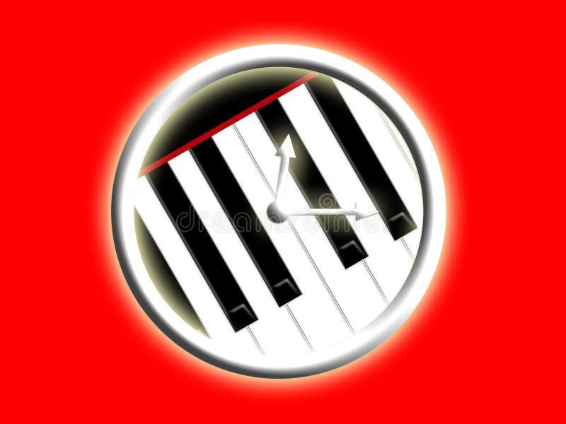 Musikzeit stock abbildung