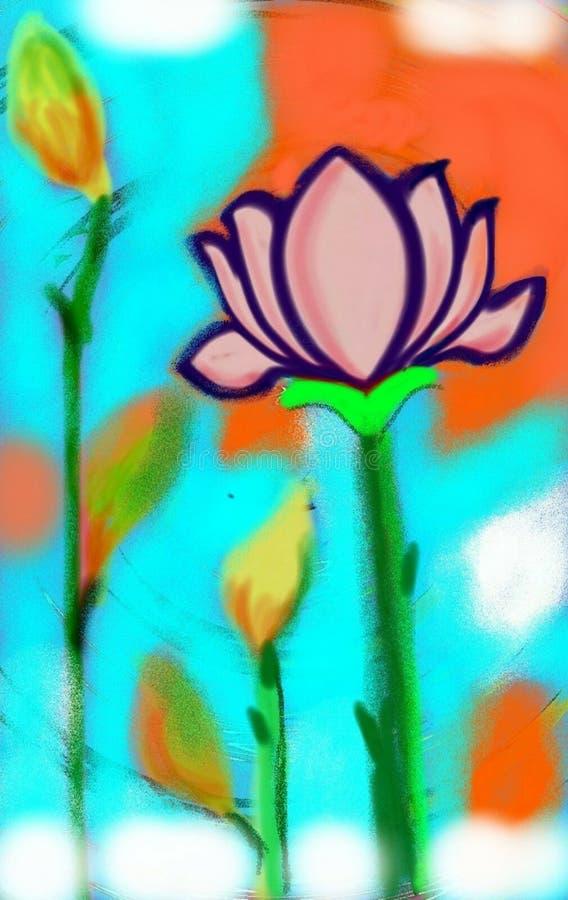Musimy pamiętać lotosu r w brudzie zdjęcia royalty free