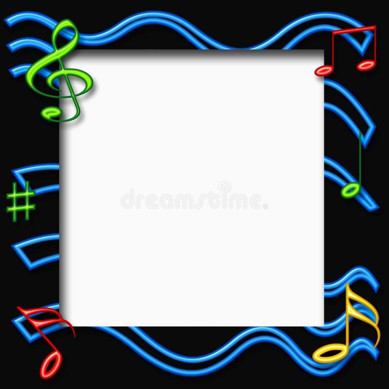 musique 3d illustration libre de droits