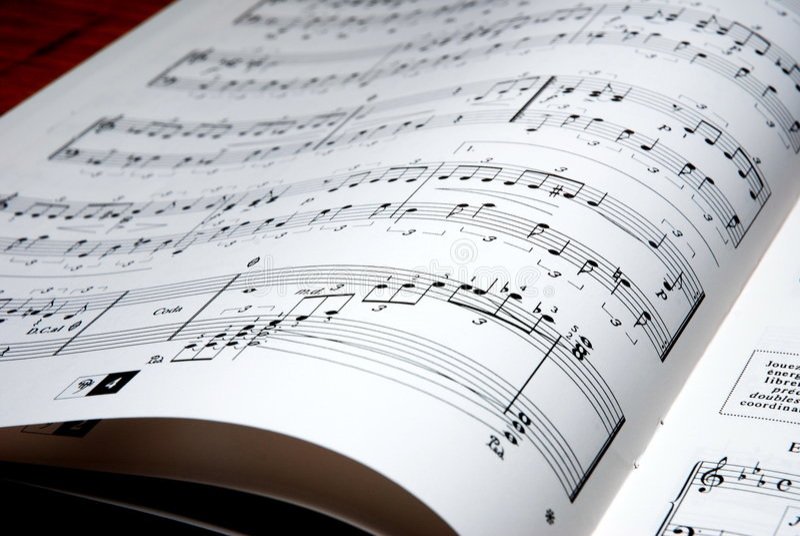 Musique photo libre de droits