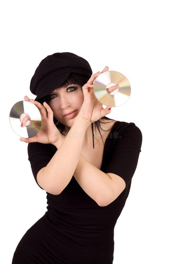 Musique CD photo stock