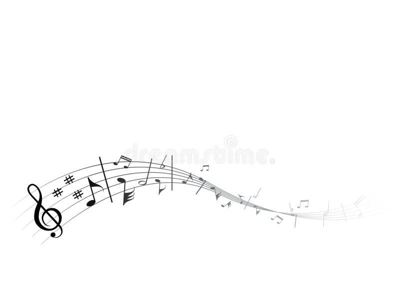 musique circulante illustration stock