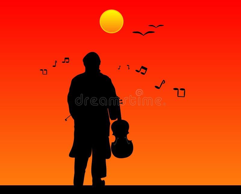 musique de jour illustration libre de droits