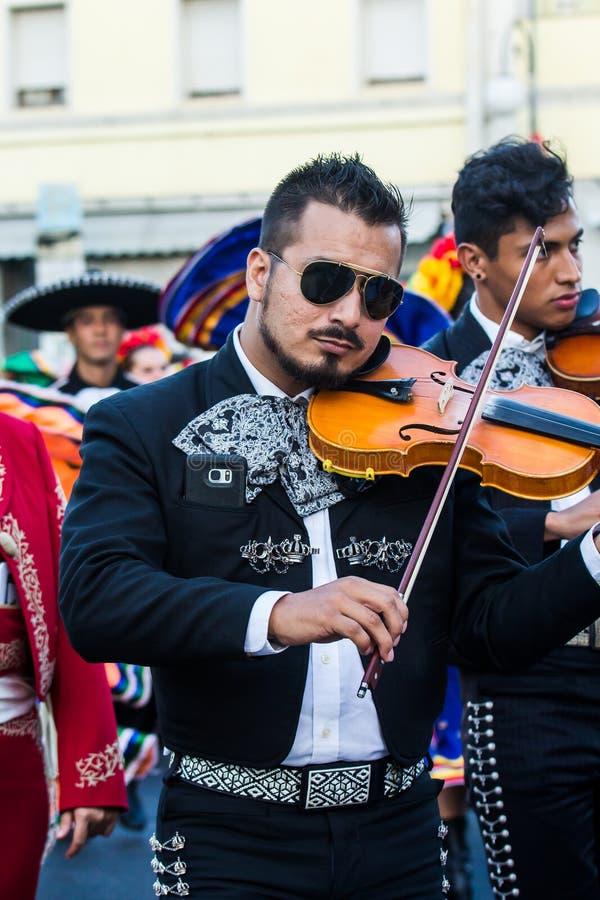 Musique et traditions du Mexique image stock
