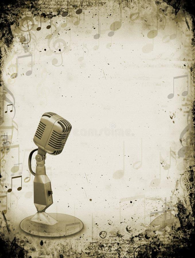 Musique grunge illustration libre de droits