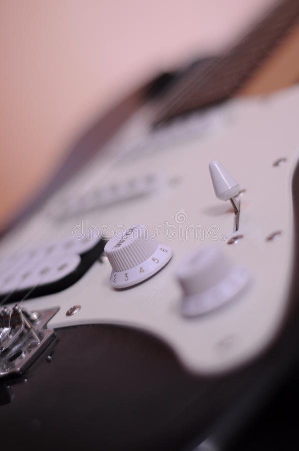 Musique Guitare photo stock