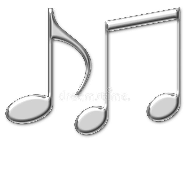 Musique saine de présentation illustration libre de droits