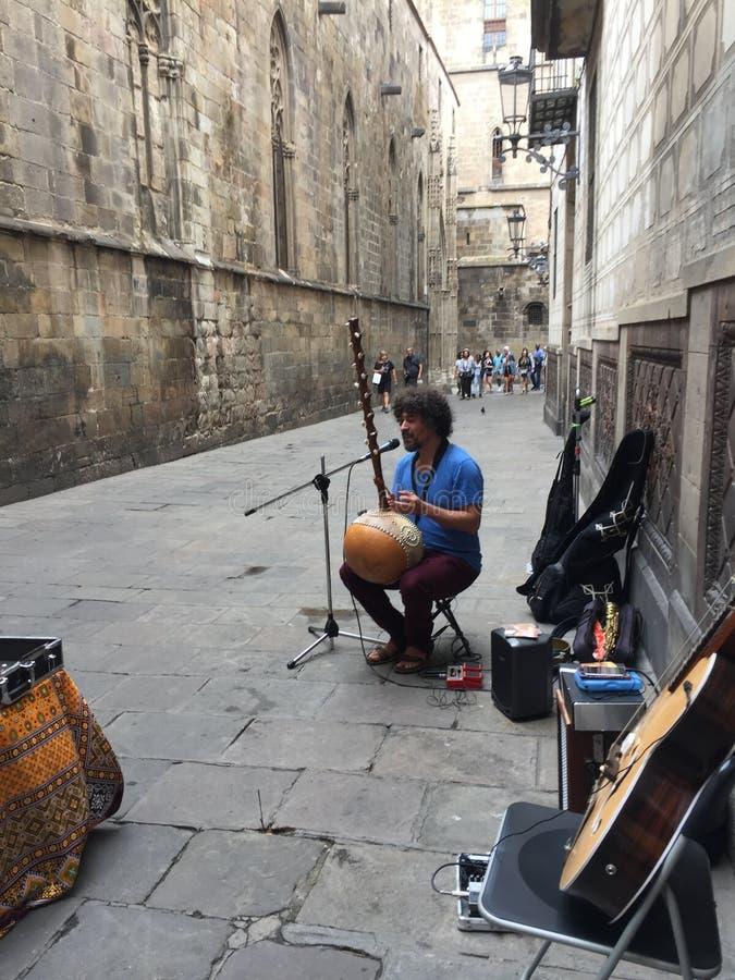 Musique sur les rues photos stock