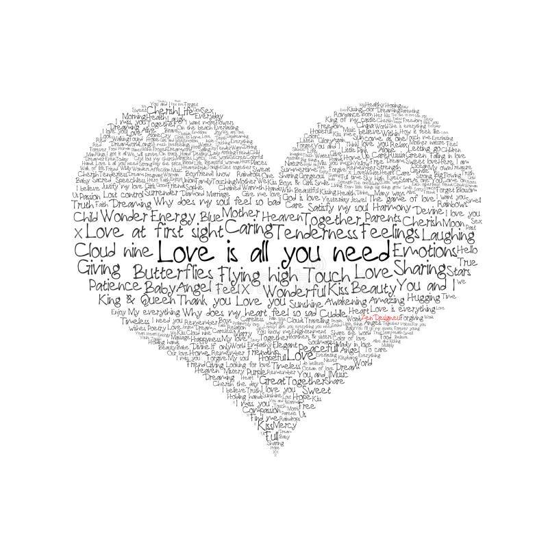 musisz wszystkich miłości ilustracja wektor