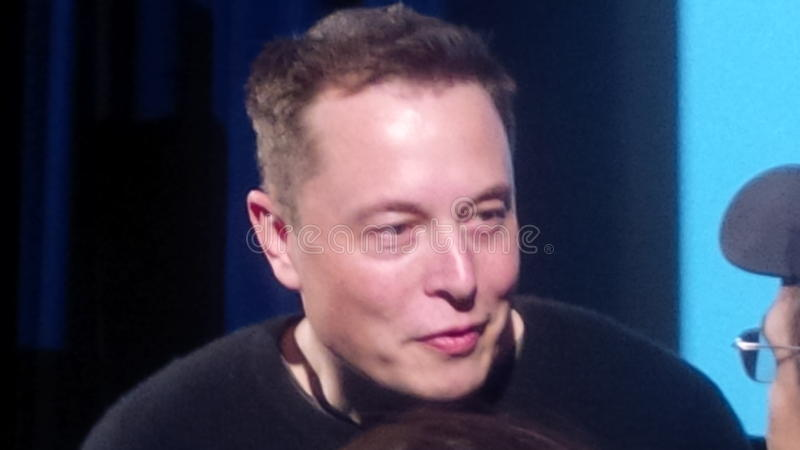 Musk Elon στοκ φωτογραφίες
