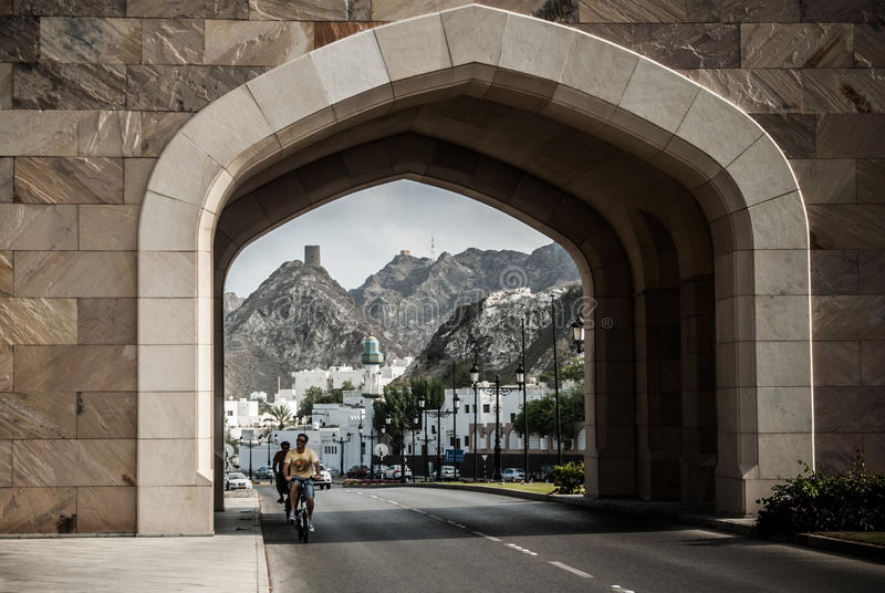 Muskatellertraube, Oman lizenzfreie stockfotografie