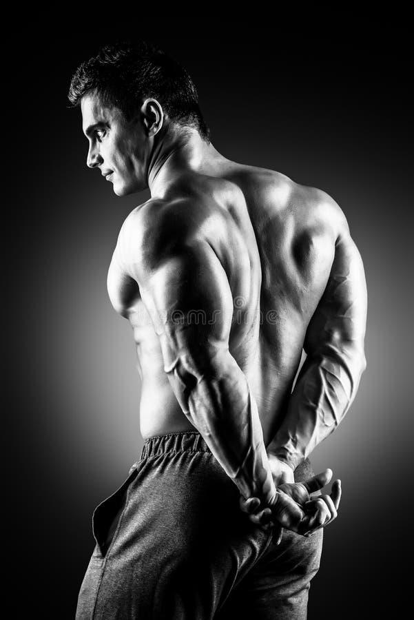 Muskelbelastning arkivfoton