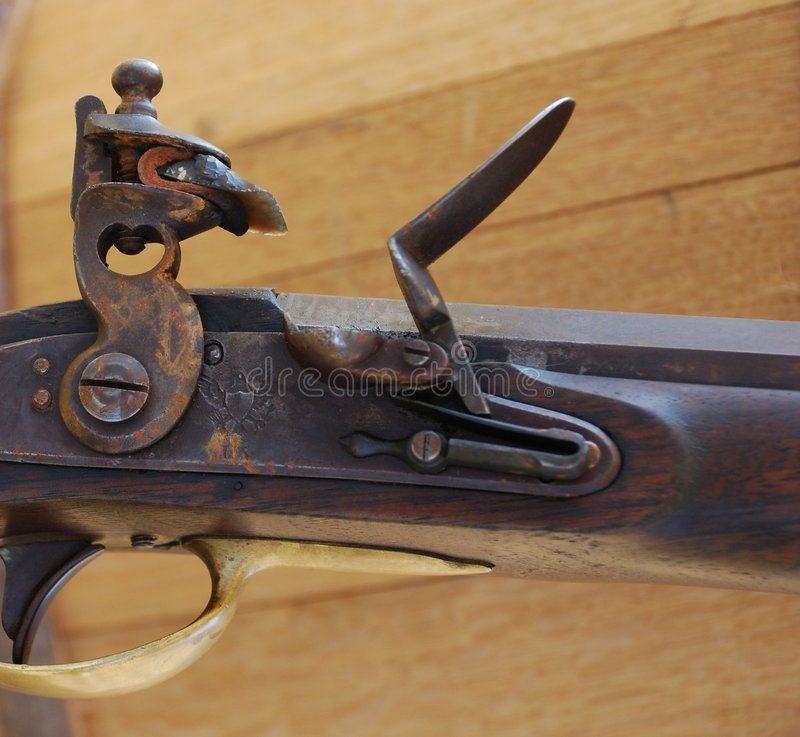 Musket royalty free stock image