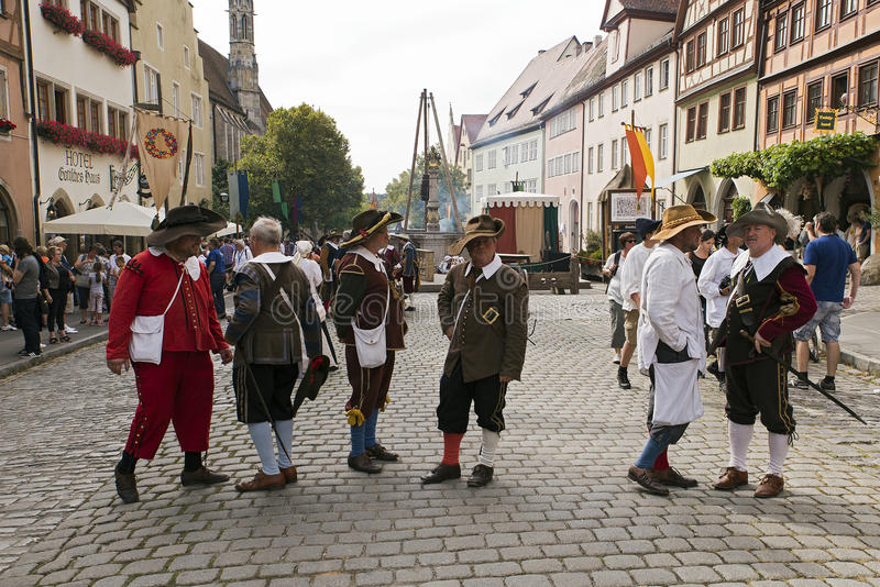 Download Musketeers editorial stock photo. Image of street, bavaria - 83704408