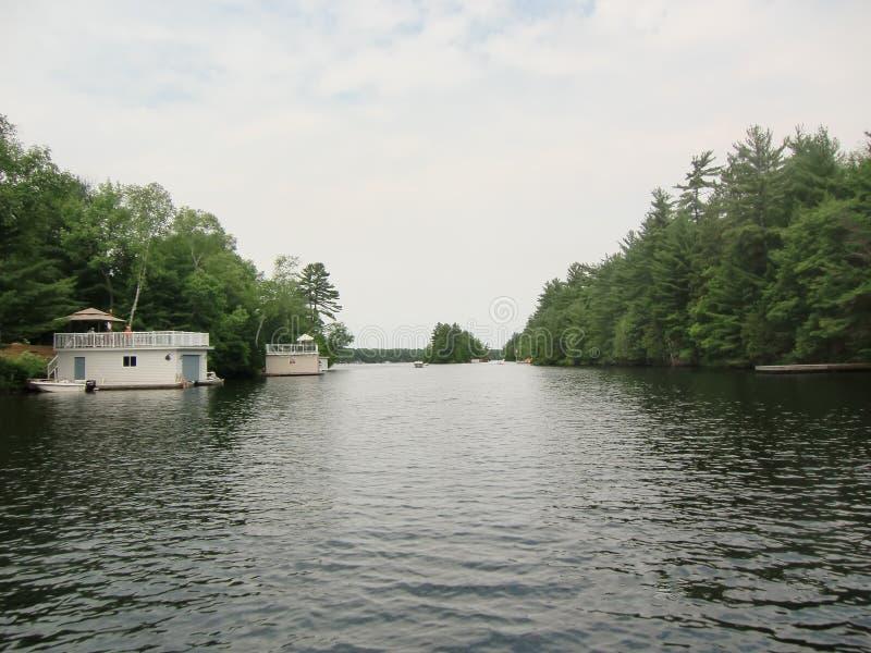 Muskoka Ontario Canada di estate fotografie stock libere da diritti