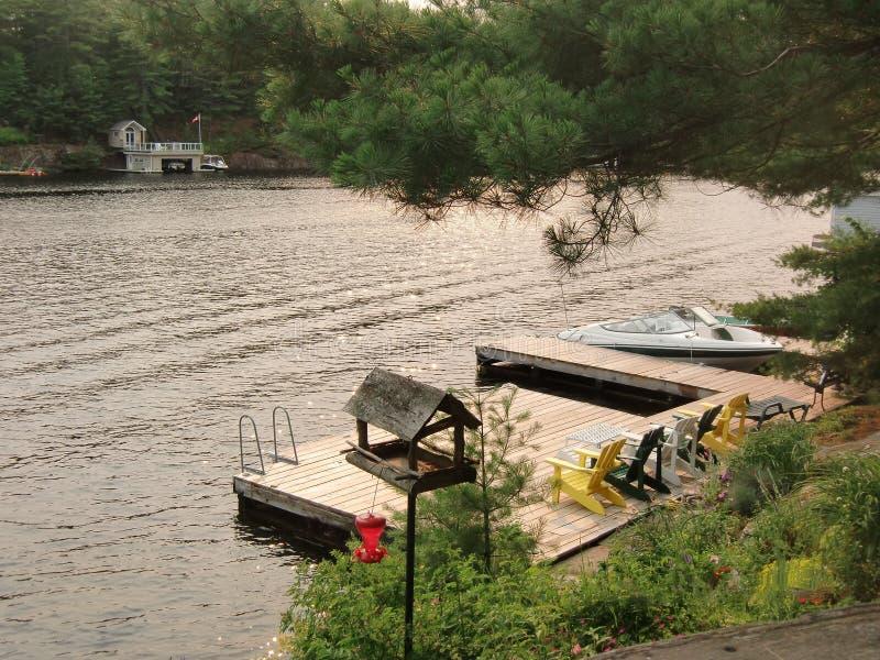 Muskoka Ontario Canada di estate fotografia stock libera da diritti