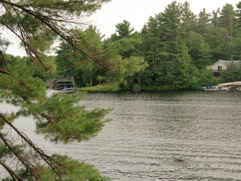 Muskoka Ontario Canada di estate immagini stock libere da diritti