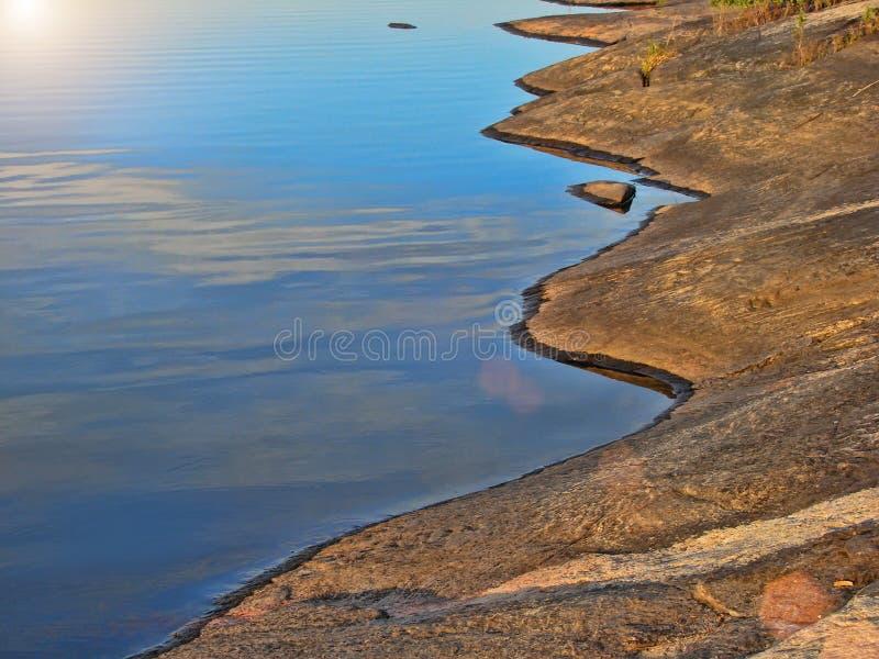 Muskoka Seen, Ontario-Natur lizenzfreie stockfotos