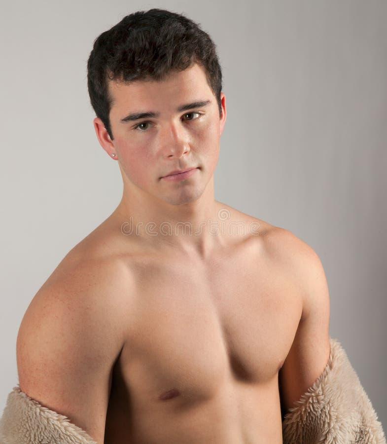 Muskul 246 Ser Teenager Stockbild Bild Von Gesicht St 228 Rke