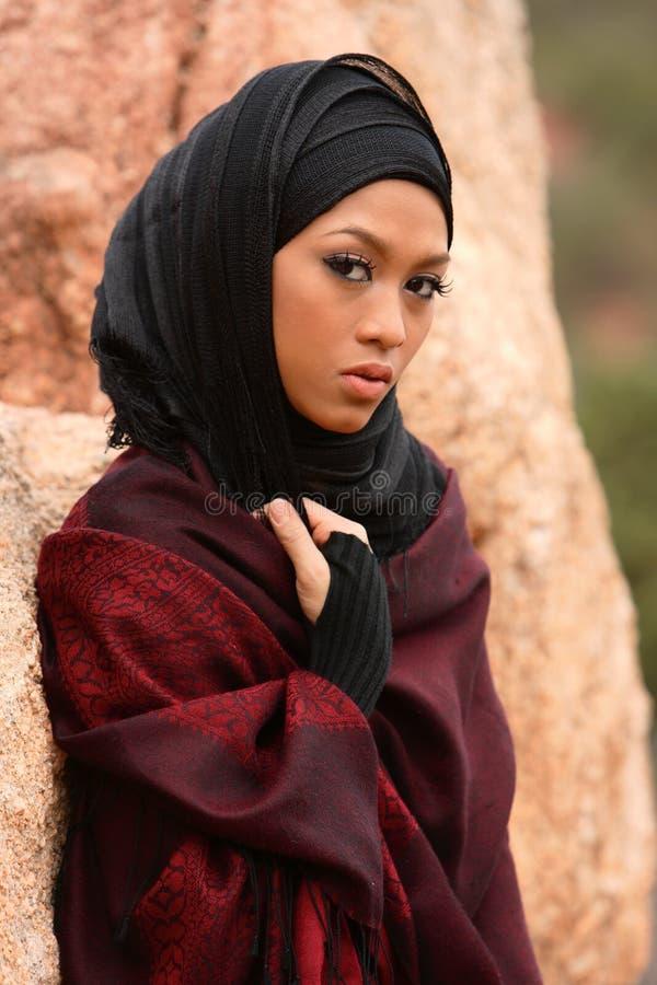 muslim девушки стоковая фотография