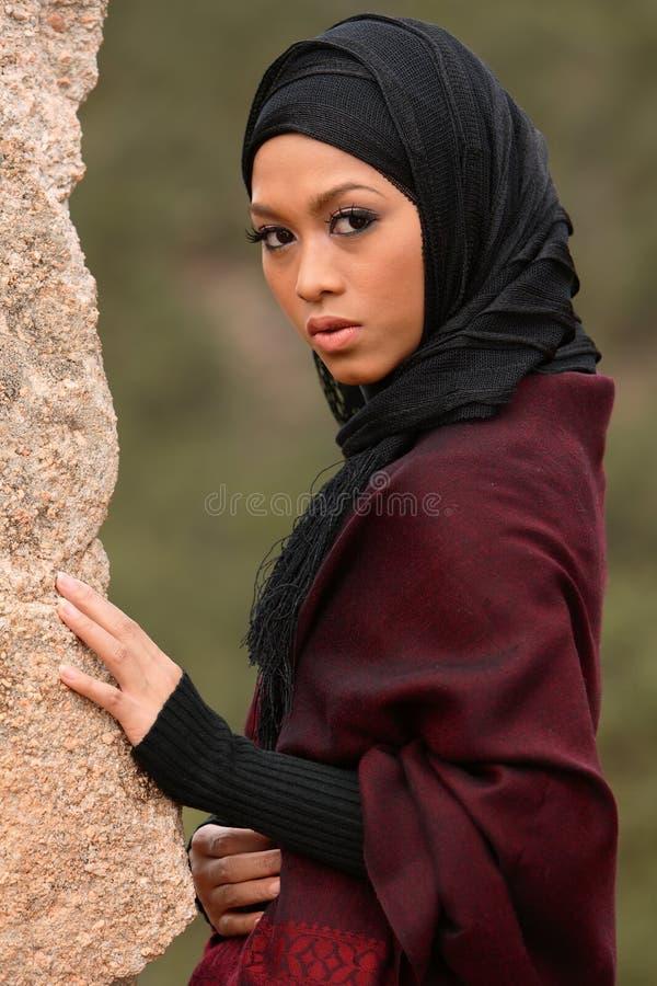 muslim девушки стоковое изображение rf