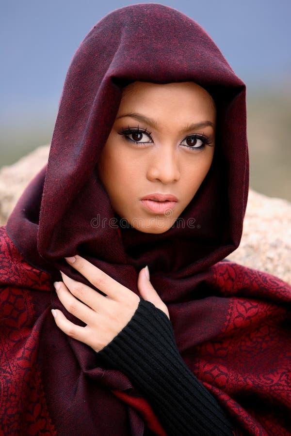muslim девушки стоковое изображение