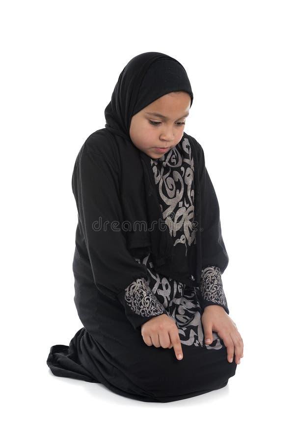 Download Muslim девушки моля стоковое фото. изображение насчитывающей рука - 41661502