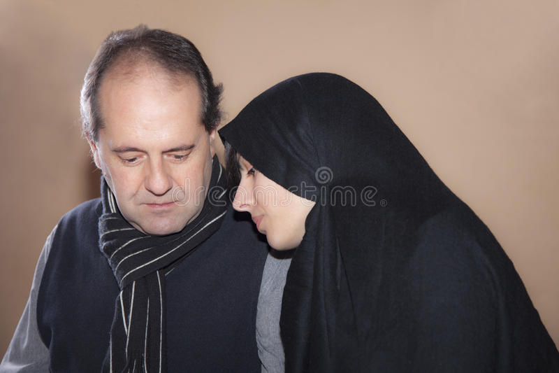 muslim пар стоковые фото