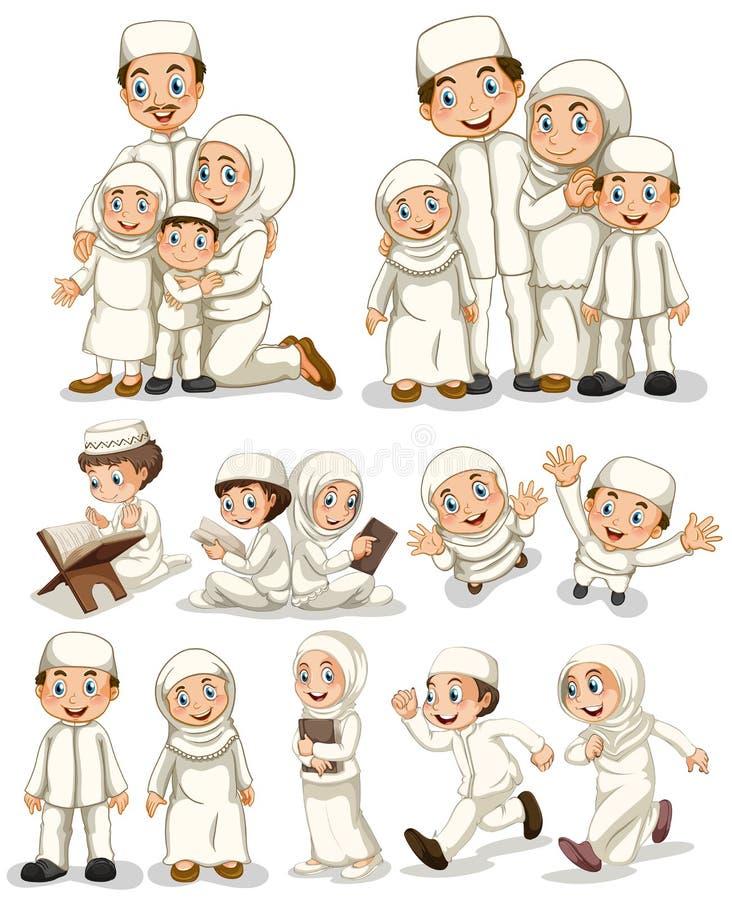 muslim royalty ilustracja