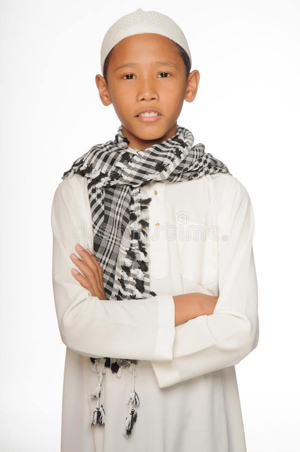 Download Muslim Boy stock photo. Image of south, white, muffler - 29744822