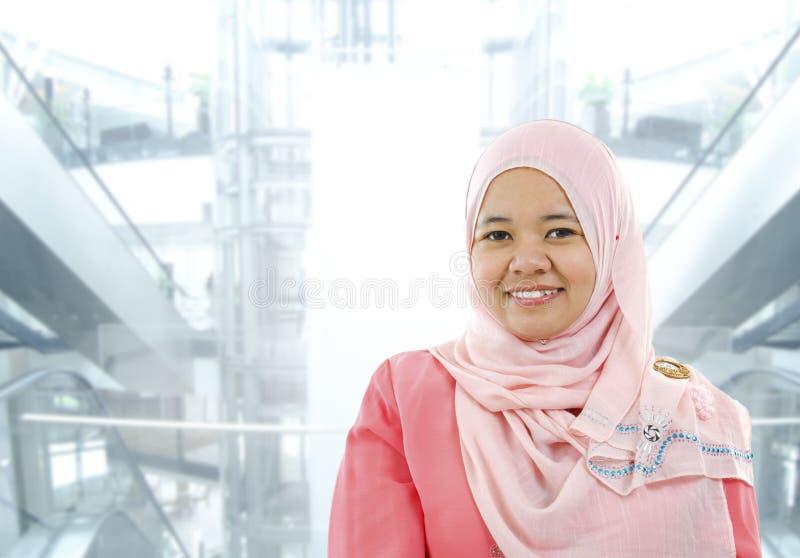 Muslim businesswoman stock photos