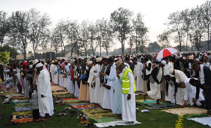 Muslim celebrations of Eid in Africa, Nairobi Kenya stock images