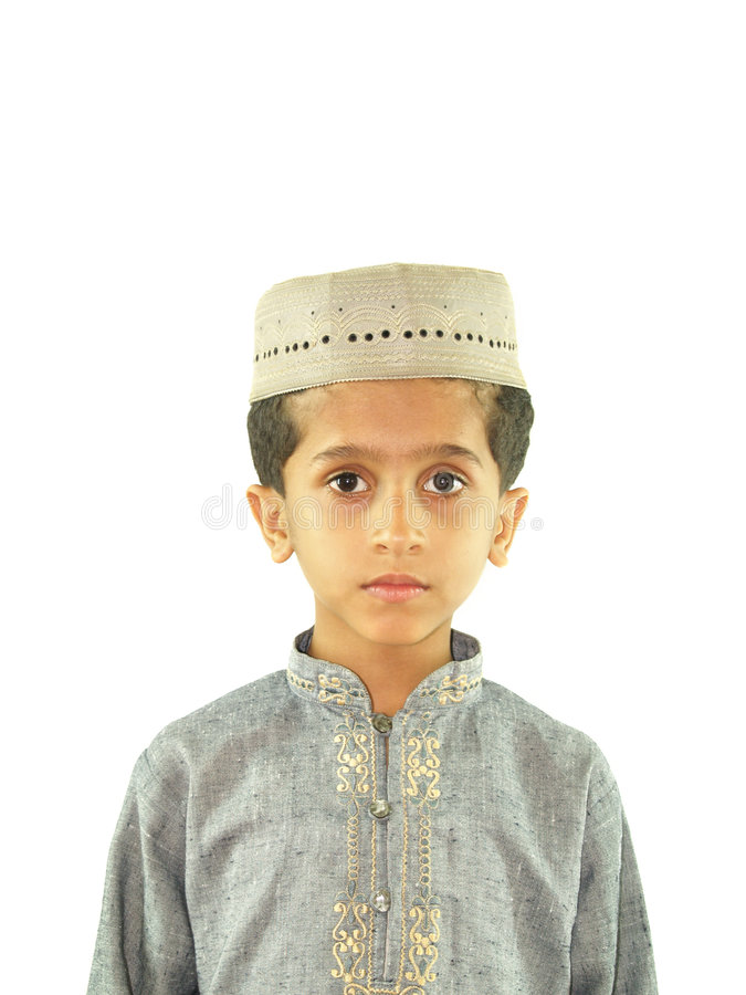Download Muslim child stock image. Image of posed, muslim, little - 5355467