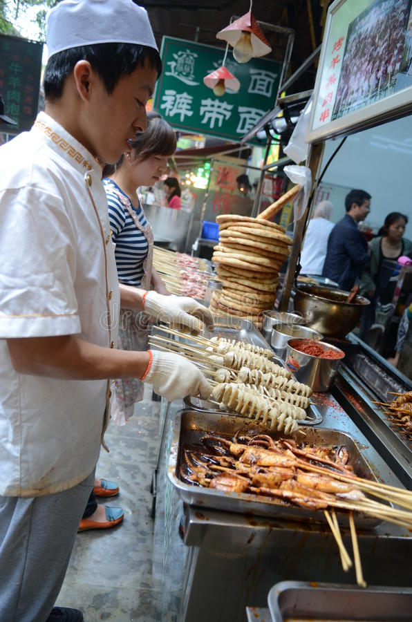 Download Muslim Chinese Food Stand Editorial Image - Image: 32359440