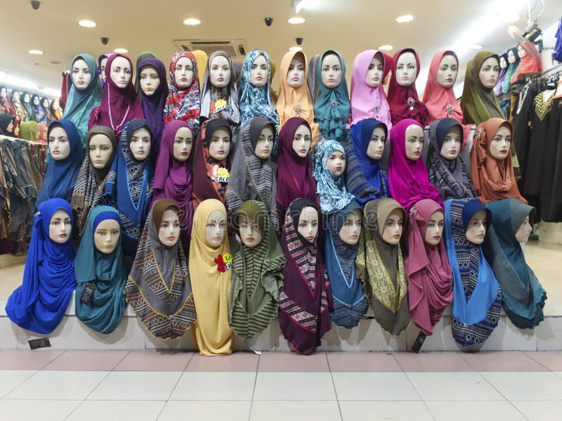 Muslim Clothes stock photography