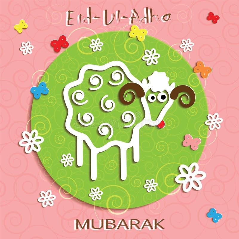 Muslim community festival of sacrifice eid ul adha greeting card download muslim community festival of sacrifice eid ul adha greeting card stock vector illustration m4hsunfo