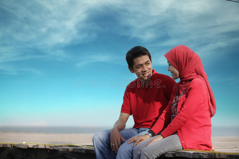 Download Muslim Couple Outdoor Royalty Free Stock Images - Image: 19326009