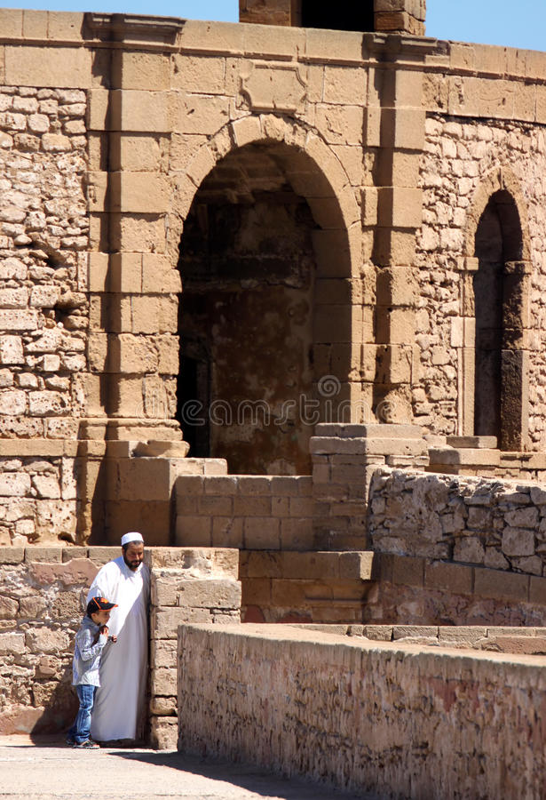 Download Muslim Father And Son On A Sightseeing Tour Editorial Photography - Image of father, muslim: 24438772
