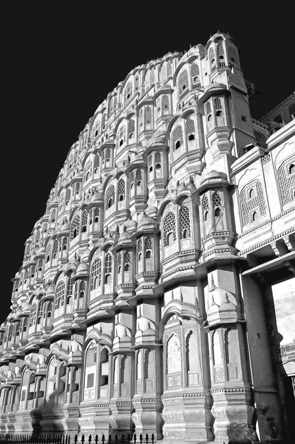 Muslim harem in Jaipur, India royalty free stock photos
