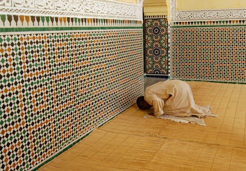 Muslim Man Praying royalty free stock images
