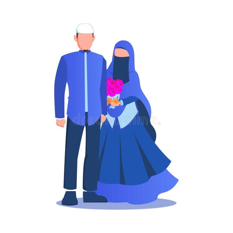 Muslim Wedding Couple Stock Illustrations 285 Muslim Wedding Couple Stock Illustrations Vectors Clipart Dreamstime