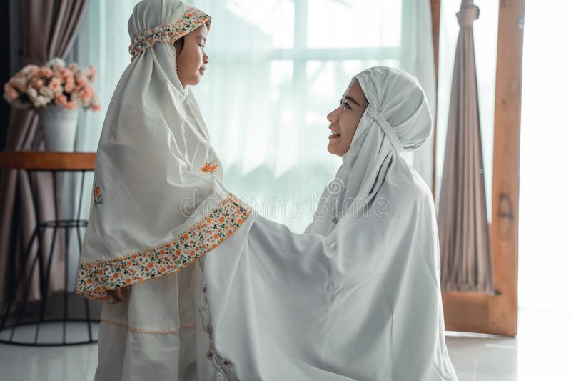 Muslim Mother And Child With Scarf To Pray Stock Photo Image Of Learn Girl 146988694,Davids Bridal Curvy Flattering Plus Size Wedding Dresses