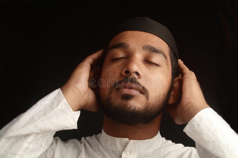 Download Muslim prayer stock photo. Image of indian, adult, cultural - 15338260