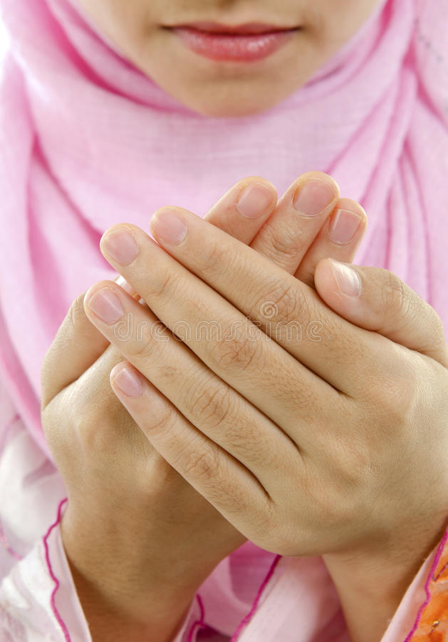 Download Muslim prayer stock photo. Image of hand, culture, east - 24440550