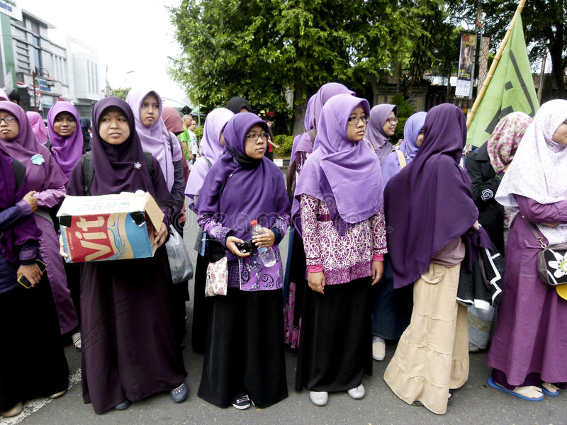 Muslim student stock photography