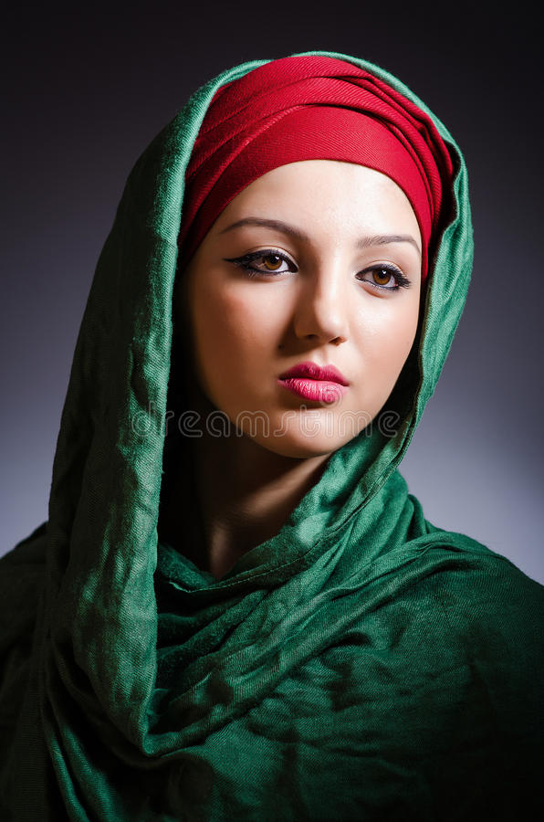 Download Muslim Woman With Headscarf Stock Photo - Image: 31601314